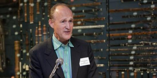 Sir Peter Bazalgette during the diversity and creative case speech. Photo: artlyst