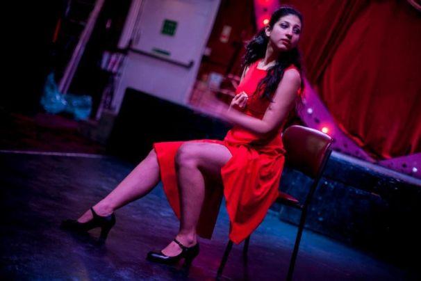 Konstantina Skalionta during The Friday League Dance Platform in Bethnal Green, London. Photo: konstantinaskalionta.wix.com